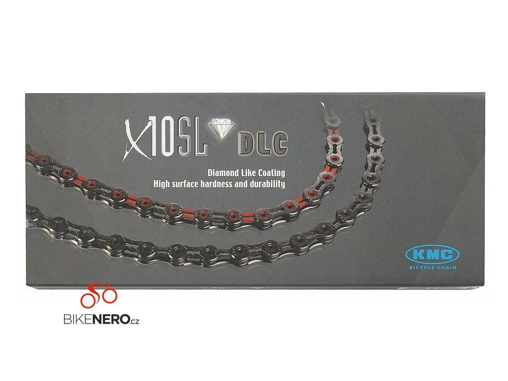 ŘETĚZ KMC X-11-SL DLC ZELENO/ČERNÝ BOX