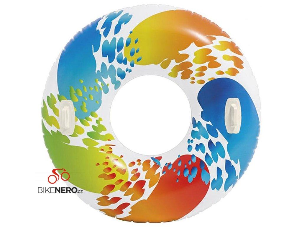 Kruh velký Intex 58202 COLOR s držadlem
