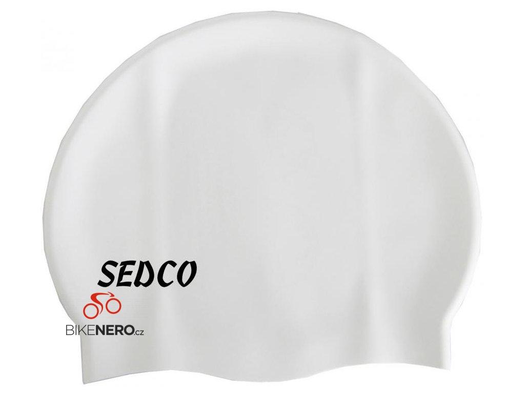 Koupací čepice Silicon RICHMORAL stříbrná