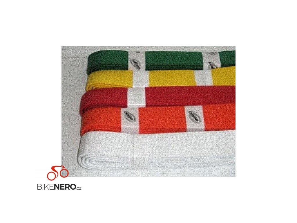 Pásek ke kimonu JUDO v.6 ZELENÁ