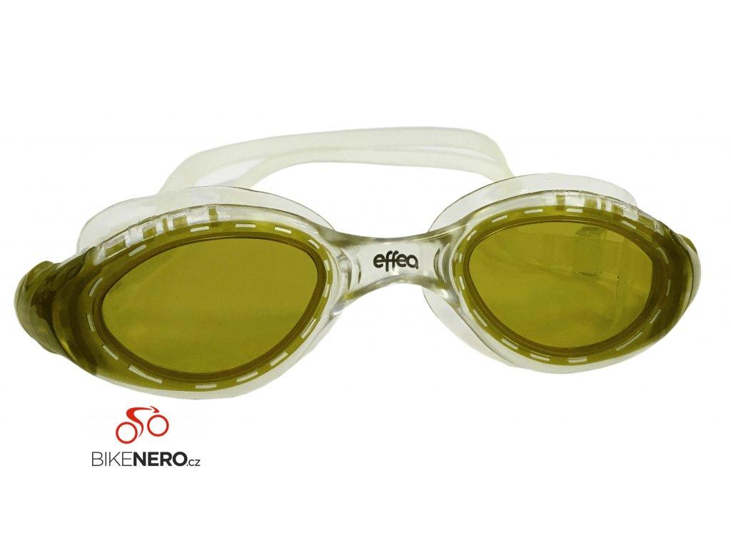 Plavecké brýle EFFEA PANORAMIC  2614  žlutá