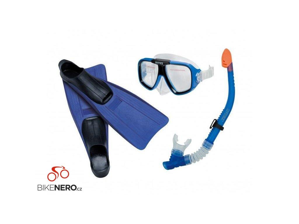 Potapěčský set reef rider Intex 55957 modrý