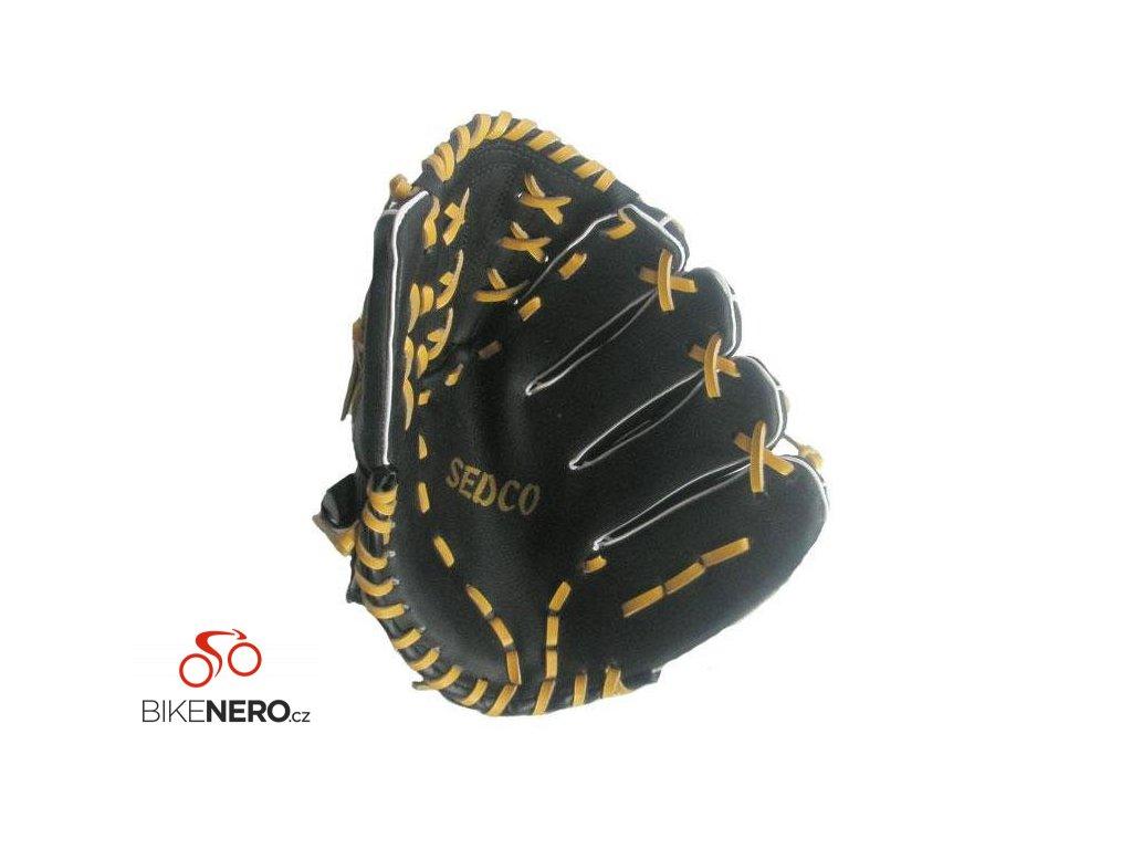 """Baseball rukavice DH-120 syntetická useň 12"""" Richmoral černá LEVÁ"""