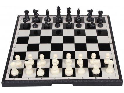 magnetické šachy skládací