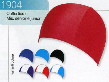 Koupací čepice LYCRA JR 1904 modrá
