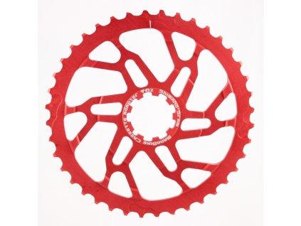 Rozšiřující pastorek 40z - SH/SR - červený