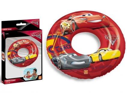 Nafukovací kruh MONDO s potiskem CARS 50 cm
