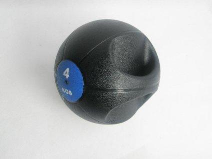 Míč medicinbal dual grip 4 kg