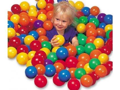 Míčky hrací 8cm 100ks Intex 49600 mix barev