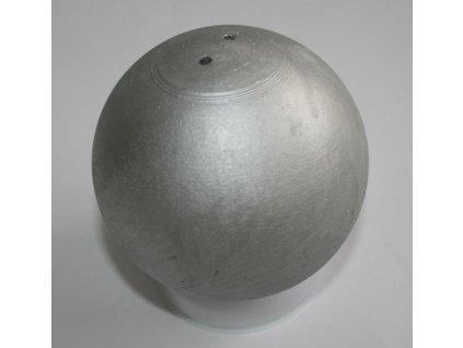 Koule atletická TRAINING 6 kg dovažovaná SEDCO stříbrná