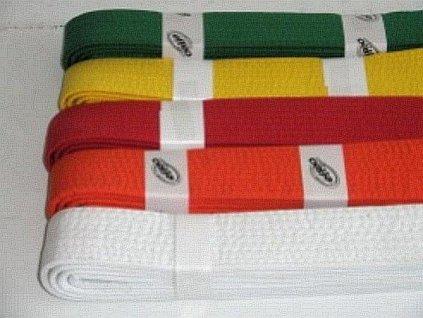 Pásek ke kimonu JUDO v.3 ČERVENÁ