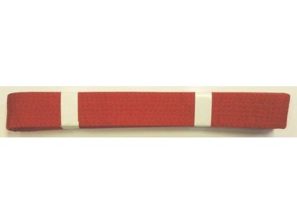 Pásek ke kimonu JUDO v.6 ČERVENÁ