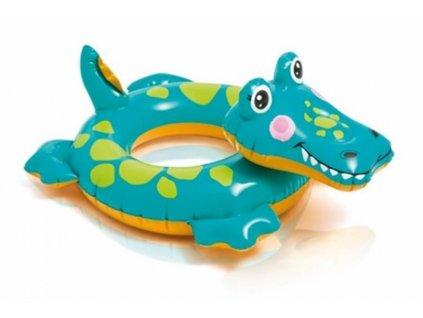 Kruh plavací INTEX ZVÍŘATA krokodýl