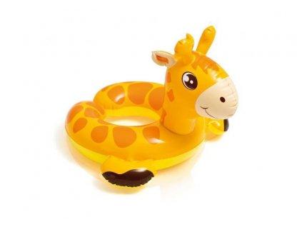 Kruh zvířátko Intex tučňák 77x55cm