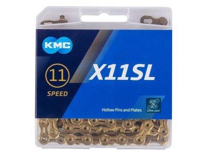 ŘETĚZ KMC X11 SL GOLD BOX