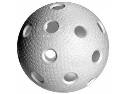 Florbalový míček  TRIX IFF bílý