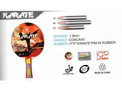 Pálka na stolní tenis ITTF KARATE 4 STARS GIANT DRAGON