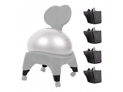 Nástavec pro balónovou židli inSPORTline EGG-Chair 4 ks