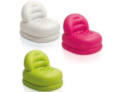 Nafukovací křeslo Mode Chair Intex 68592 zelené