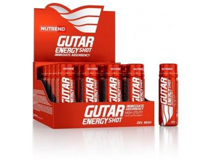 nápoj Nutrend GUTAR ENERGY SHOT 20x60ml