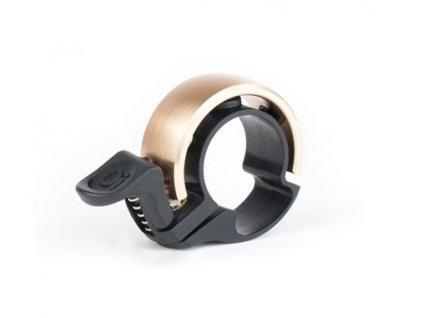 zvonek Knog Oi Bell Classic mosazný malý
