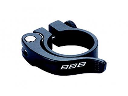 objímka sedlovky BBB SmoothLever 31,8 černá