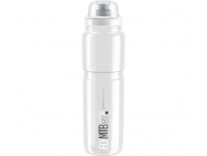 lahev ELITE FLY MTB čirá/šedé logo 950 ml