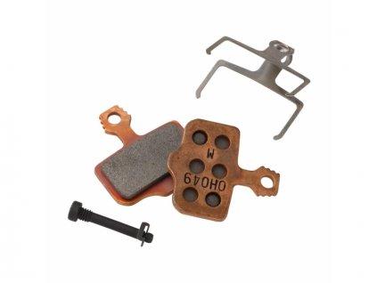 brzdové destičky SRAM Elixir DB metal sintrované/ocelové