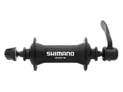 NÁBOJ PŘEDNÍ SHIMANO SORA HB-M2200 36D ČERNÝ