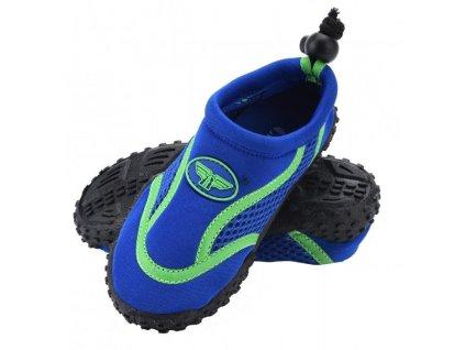 Boty do vody dětské modré vel.35
