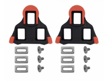 kufry pedálů Shimano SM-SH10 pevné červené