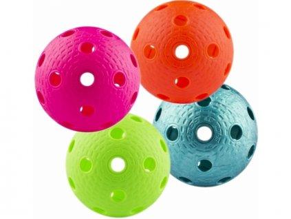 míček florbal 4ks mix barev