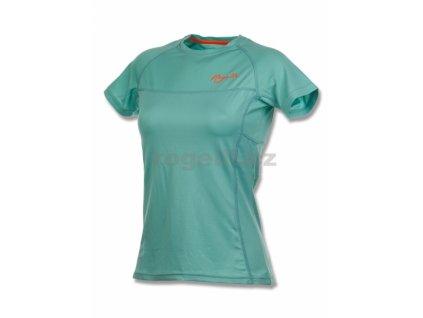 triko krátké dámské Rogelli SIRA funkční tyrkysové