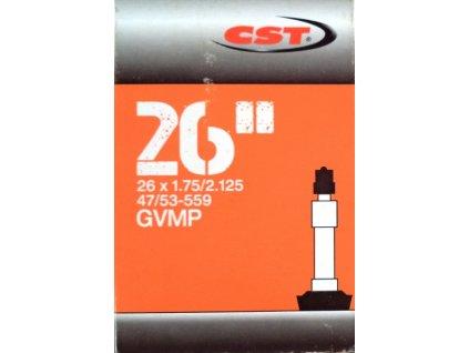 """duše CST 26""""x1.75-2.125 (47/53-559) DV/40mm"""