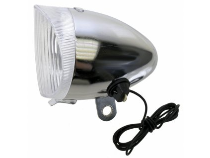 osvětlení přední retro stříbrné
