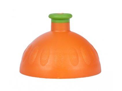 víčko na lahev R&B oranžové/zelená