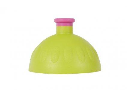 víčko na lahev R&B světle zelené/fialová