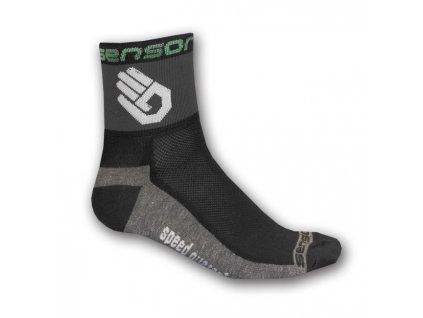 ponožky SENSOR RACE LITE HAND černé