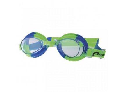 brýle dětské Spokey JELLYFISH zelené