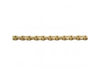 řetěz KMC X10SL zlatý 114 čl. BOX