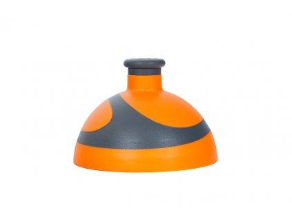 víčko 2K na lahev R&B oranžová/antracit