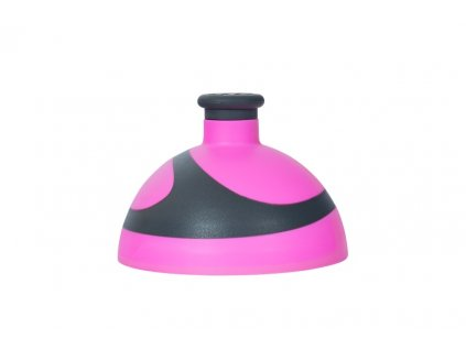 víčko 2K na lahev R&B růžová/antracit