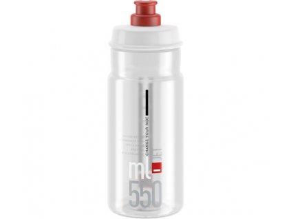 lahev ELITE Jet Clear červené logo, 550 ml