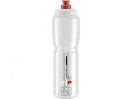 lahev ELITE Jet Clear červené logo, 950 ml