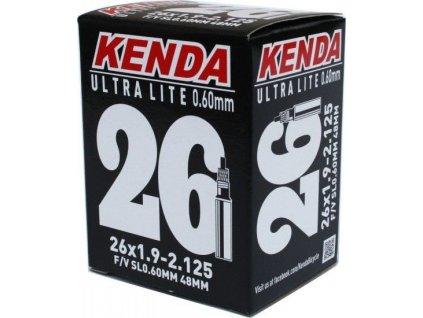 DUŠE KENDA 26x1.90-2.125 (47/57-559) FV-48MM 120G ULTRALITE 0,6MM