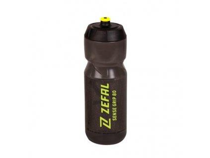 lahev ZEFAL SENSE GRIP 80 černá žutý potisk