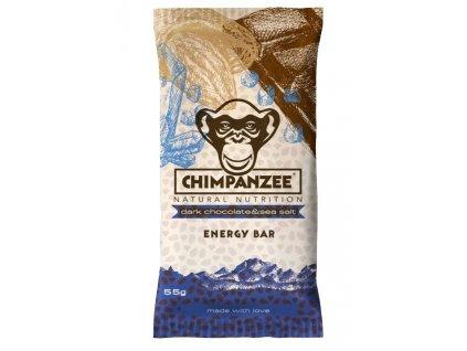tyčinka Chimpanzee Energy Bar 55g čokoláda+mořská sůl