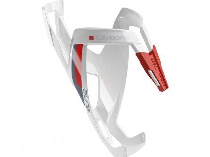 košík ELITE Custom Race Plus White 20, červený graphic