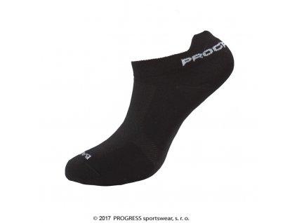ponožky Progress LOWLY bamboo černé