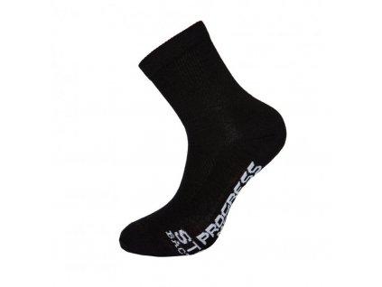 ponožky Progress MANAGER Merino Lite čené